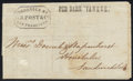 Stamps, 1855, May 4, Manila, Philippines to Honolulu, Sandwich Islands....