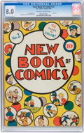 Golden Age (1938-1955):Humor, New Book of Comics #2 (DC, 1938) CGC VF 8.0 Off-white to white pages....
