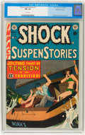 Golden Age (1938-1955):Horror, Shock SuspenStories #11 Gaines File pedigree 8/11 (EC, 1953) CGC NM9.4 White pages....