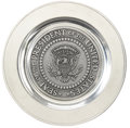 Political:Presidential Relics, Ronald Reagan: Metal Charger with the Seal of the President of the United States....