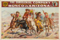 "Entertainment Collectibles:Theatre, ""Bunco in Arizona"" Theatrical Poster, Circa 1907...."