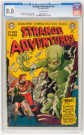Golden Age (1938-1955):Science Fiction, Strange Adventures #10 (DC, 1951) CGC VF 8.0 Off-white pages....
