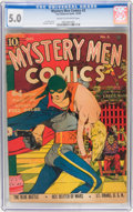 Golden Age (1938-1955):Superhero, Mystery Men Comics #3 (Fox, 1939) CGC VG/FN 5.0 Cream to off-white pages....