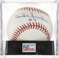 Autographs:Baseballs, . Duke Snider Single Signed Baseball PSA Mint+ 9.5....