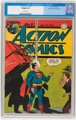 Action Comics #87 Mile High pedigree (DC, 1945) CGC VF/NM 9.0 Off-white pages
