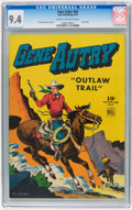 Golden Age (1938-1955):Western, Four Color #83 Gene Autry (Dell, 1945) CGC NM 9.4 Cream tooff-white pages....