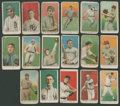 Baseball Cards:Lots, 1909-11 E90-1 American Caramel Collection (17 Different) - With HoFers!...