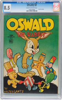 Four Color #39 Oswald the Rabbit (Dell, 1944) CGC VF+ 8.5 Cream to off-white pages