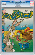 Golden Age (1938-1955):Cartoon Character, Looney Tunes and Merrie Melodies Comics #26 (Dell, 1943) CGC VF/NM 9.0 Off-white pages....