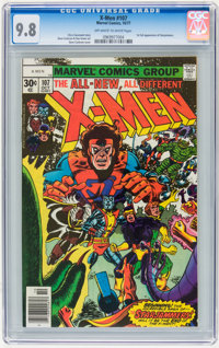 X-Men #107 (Marvel, 1977) CGC NM/MT 9.8 Off-white to white pages