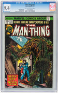 Bronze Age (1970-1979):Horror, Man-Thing #12 (Marvel, 1974) CGC NM 9.4 Off-white to whitepages....