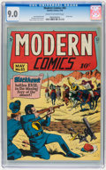 Golden Age (1938-1955):Superhero, Modern Comics #85 (Quality, 1949) CGC VF/NM 9.0 Cream to off-white pages....