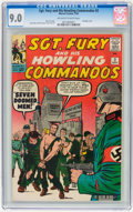 Silver Age (1956-1969):War, Sgt. Fury and His Howling Commandos #2 (Marvel, 1963) CGC VF/NM 9.0 Off-white to white pages....