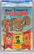 Golden Age (1938-1955):Cartoon Character, Four Color (Series One) #17 Dumbo (Dell, 1941) CGC FN 6.0 Off-whitepages....