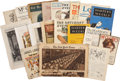 Political:Small Paper (1896-present), Woman's Suffrage: Large Collection of Twenty Magazines, Newspapers,and Articles.... (Total: 20 Items)