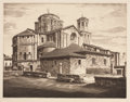 Fine Art - Work on Paper:Print, JOHN TAYLOR ARMS (American, 1887-1953). Group of 5 Prints. Etching and drypoint on paper. Each pencil signed. ...