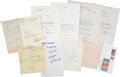 Autographs:Statesmen, Franklin D. Roosevelt: Sons Signature Archive.... (Total: 13 Items)