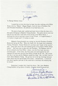 Political:Miscellaneous Political, Madame Chiang Kai-shek: Sleeve from Bed Jacket Acquired DuringVisit to Franklin D. Roosevelt....