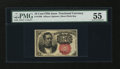 Fractional Currency:Fifth Issue, Fr. 1266 10¢ Fifth Issue PMG About Uncirculated 55....