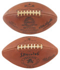 Football Collectibles:Balls, 1960's Vintage AFL and NFL Footballs from the Estate of David Boss. ...