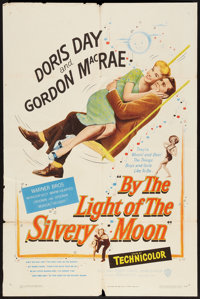 "By the Light of the Silvery Moon (Warner Brothers, 1953). One Sheet (27"" X 41""). Musical"