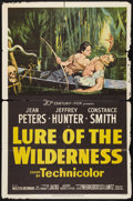 "Movie Posters:Adventure, Lure of the Wilderness (20th Century Fox, 1952). One Sheet (27"" X41""). Adventure.. ..."