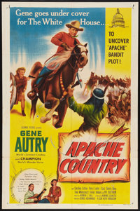 """Apache Country (Columbia, 1952). One Sheet (27"""" X 41""""). Western"""