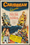 "Movie Posters:Adventure, Caribbean (Paramount, 1952). One Sheet (27"" X 41""). Adventure.. ..."