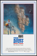 """Movie Posters:Adventure, The Right Stuff (Warner Brothers, 1983). One Sheet (27"""" X 41"""").Adventure.. ..."""
