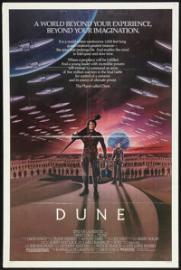 "Dune (Universal, 1984). One Sheet (27"" X 41""). Science Fiction"