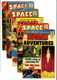 Space Adventures Group (Charlton, 1960-62).... (Total: 5 Comic Books)