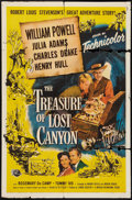 "Movie Posters:Adventure, The Treasure of Lost Canyon (Universal International, 1952). OneSheet (27"" X 41""). Adventure.. ..."