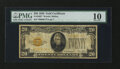 Small Size:Gold Certificates, Fr. 2402* $20 1928 Gold Certificate Star. PMG Very Good 10.. ...