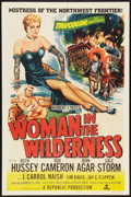 "Movie Posters:Adventure, Woman in the Wilderness (Republic, 1952). One Sheet (27"" X 41"").Adventure.. ..."