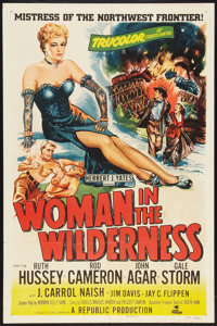 "Woman in the Wilderness (Republic, 1952). One Sheet (27"" X 41""). Adventure"