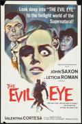 """Movie Posters:Mystery, The Evil Eye (American International, 1964). One Sheet (27"""" X 41"""").Mystery.. ..."""