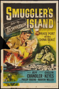 "Movie Posters:Adventure, Smuggler's Island (Universal, 1951). One Sheet (27"" X 41"").Adventure.. ..."