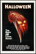 "Movie Posters:Horror, Halloween (Compass International, 1978). One Sheet (27"" X 41"") BlueRatings Box Style. Horror.. ..."