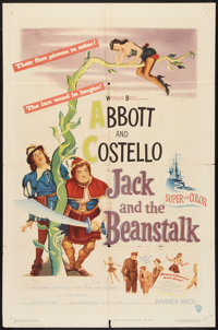 """Jack and the Beanstalk (Warner Brothers, 1952). One Sheet (27"""" X 41""""). Comedy"""