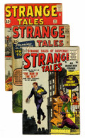 Golden Age (1938-1955):Science Fiction, Strange Tales #38 and 101-103 Group (Atlas/Marvel, 1955-62)Condition: Average GD+.... (Total: 4 Comic Books)