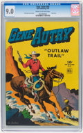 Golden Age (1938-1955):Western, Four Color #83 Gene Autry (Dell, 1945) CGC VF/NM 9.0 Cream to off-white pages....