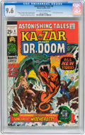 Silver Age (1956-1969):Superhero, Astonishing Tales #8 Ka-Zar (Marvel, 1971) CGC NM+ 9.6 Off-white to white pages....