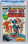 Bronze Age (1970-1979):Superhero, Giant-Size Invaders #1 (Marvel, 1975) CGC NM/MT 9.8 Off-white to white pages....