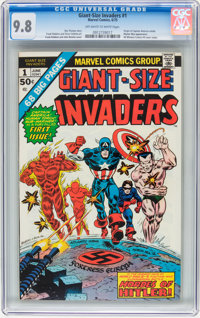 Giant-Size Invaders #1 (Marvel, 1975) CGC NM/MT 9.8 Off-white to white pages