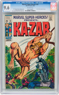 Silver Age (1956-1969):Superhero, Marvel Super-Heroes #19 Ka-Zar (Marvel, 1969) CGC NM+ 9.6 Off-white pages....