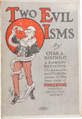 Books:First Editions, Charles A. Siringo. Two Evil Isms: Pinkertonism andAnarchism, by a Cowboy Detective Who Knows, As He SpentTwenty...