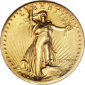 High Relief Double Eagles, 1907 $20 High Relief, Wire Rim--Cleaned--ANACS. AU55 Details....