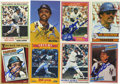 Autographs:Checks, Reggie Jackson Signed Baseball Cards Lot of 8. Mr. October makeseach of the eight cards, dating from between 1978 and 1991...