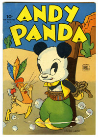 Four Color #54 Andy Panda (Dell, 1944) Condition: FN/VF