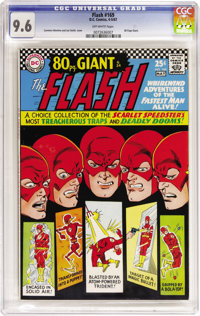 The Flash #169 (DC, 1967) CGC NM+ 9.6 Off-white pages